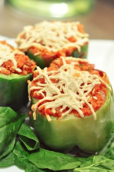 "Vegan Stuffed Peppers - trying with the famous Mac n cheese ""cheese"" :)"