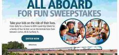 Parents Magazine wants you to enter to win a chance to take your kids on the ride of their lives on the Amtrack Auto Train between Lorton, VA & Sanford, FL! ONE GRAND PRIZE: One Auto Tr… Auto Train, Train Car, Win A Trip, Enter To Win, Round Trip, Parents, Magazine, Vacation, Fun