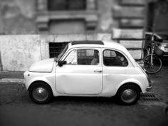 Fiat 500 in Rom...da wo er hingehört! ;-)