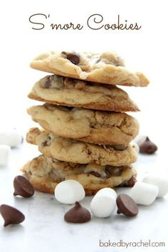S'mores Cookies. I don't like S'mores, but   people in my office have been asking for them.