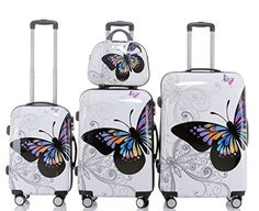 Vanity Suitcase With Lights Karabar Large Hard Sided Suitcase  10 Years Warranty Balloons