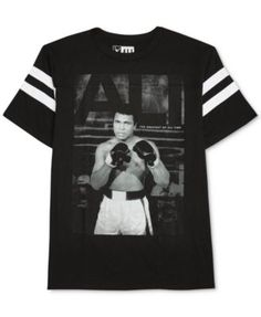 Jem adds historical style to your look with this graphic-print crewneck.  Jem Men's Muhammad Ali ...