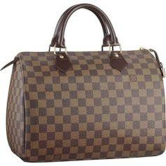 Louis Vuitton N41531 Handbag Speedy 30 Brown