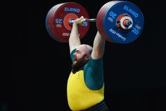 Damon Kelly lifts well          Damon Kelly of Australia competes in the Men's +105kg Weightlifting final on Day 11 of the London 2012 Olympic Games at ExCeL on August 7, 2012 in London, England.          © Lars Baron/Getty Images
