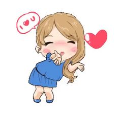 The Gorgeous Sha Cute Love Pictures, Cute Cartoon Pictures, Cute Love Cartoons, Gif Pictures, Animated Emoticons, Funny Emoticons, Funny Emoji, Animated Gif, Love You Gif