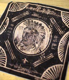 Barnaby Black Indian Handkerchief - www.barnabyblack.com