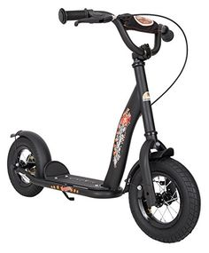Bikestar 10 inch 254 cm Kids Kick Scooter Black * Details can be found by clicking on the image.