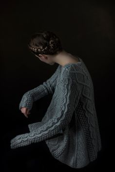 Co | Fall 2014 Ready-to-Wear Collection | Style.com  aran sweater. +hair the colour maybe little dark