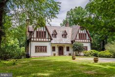 1927 Tudor For Sale In McLean Virginia Mclean Virginia, Fairfax County, Old Mansions, English Tudor, Grand Staircase, Stone Flooring, Workout Rooms, Old Houses, Home Buying