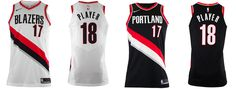 "PORTLAND TRAIL BLAZERS UNVEIL NEW ""ASSOCIATION"" AND ""ICON"" NIKE JERSEYS - Learn More about this amazing Apparel on thenoticecentre.com"