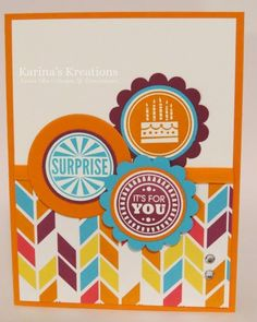 Stampin'Up Amazing Birthday Card!