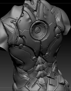 zbrush and Keyshot hardsurface modeling Blizzardfest challenge 2014 Zbrush Character, 3d Model Character, Character Concept, Character Art, Concept Art, Character Design, Cyberpunk, Hard Surface Modeling, Zbrush Tutorial