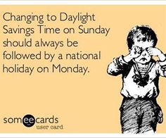 "Daylight Savings Time happened yesterday, and as we went ""springing ahead,"" I felt myself lagging behind immediately. I don't know about you guys, but I am really missing that extra hour that we lo..."