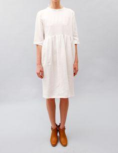 (via United Bamboo Pilgrim Dress- White)