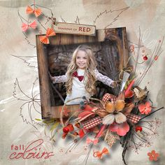 """Autumn...The Crazy Painter"" by MiSi Scrap"