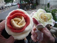Terug in de tijd, het mooiste ijsje in Boedapest #ijs #icecream #Boedapest #Budapest  #GerlatoRosa #roos #rose #art #kunstwerk #kunst #tbt #jufsas #lekker #nice #mooi #herinnering #inspiratie #ijsje #loveit #stedentrip #tip #Hongarije #Hungary