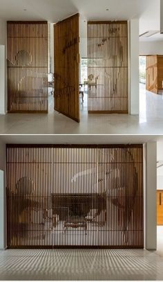 Room divider design, house around a courtyard. Loaded Voids – UPCYCLING IDEAS – … Room divider design, house around a courtyard. Loaded Voids – UPCYCLING IDEAS – Room divider design, house around a courtyard. Salon Interior Design, Interior Decorating, Room Interior, Interior Garden, Wood Interior Walls, Divider Design, Divider Ideas, Interiores Design, Cheap Home Decor