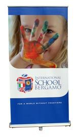 ROLL10 il roll up banner standard - Bergamo SCHOOL