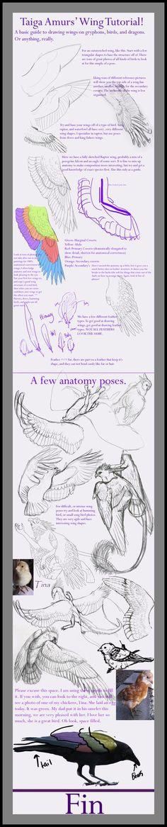 Wing Tutorial by SunStateGalleries on DeviantArt