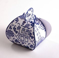 Classical China wedding candies box