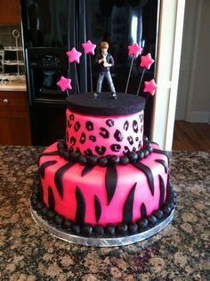 Diva Birthday Cake on Cake Central Makeup Nails Pinterest