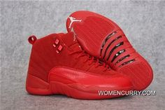 new product 33cef b5d18 Air Jordan 12  Red Suede  Best