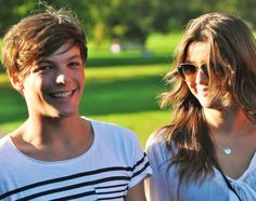 Louis Tomlinson and Eleanor Calder I totally ship them together they're so cute One Direction Images, I Love One Direction, Louis Tomlinson, Louis And Eleanor, Eleanor Calder, Five Guys, The Girlfriends, Louis Williams, Lucky Girl