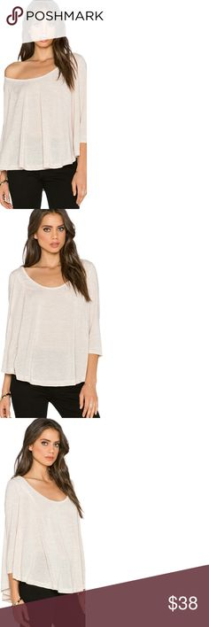 🆕Free  People Tambourine Tee in Dark Oatmeal New and with tags Free People Tops Tees - Long Sleeve