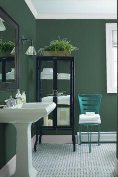 Bathroom 2   Benjamin Moore