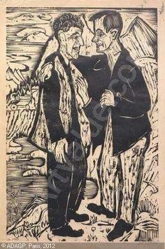Ernst Ludwig Kirchner (1880 -1938) Kort na een nieuwe opname in een sanatorium, vestigt hij zich samen met zijn vrouw in het alpendorp Frauenkirch bij Davos en blijft daar de rest van zijn leven wonen en werken. In Frauenkirch komt ook dikwijls zijn veel jongere Groningse leerling en vriend Jan Wiegers op bezoek, om daar in het atelier van Kirchner met hem samen te werken.