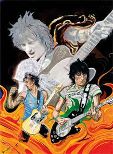 Ronnie Wood - The Famous Flames Suite