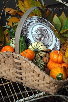 white wines, fall decor, autumn, turkey plate, gift cards, windows, baskets, fall basket, wine gifts