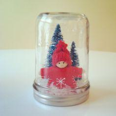 Scandi Boy Christmas Decoration. $18.00, via Etsy.