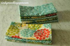 Easy cloth napkins