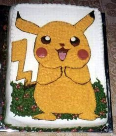 Pikachu cake...Very cuttie!