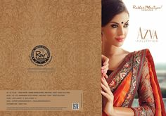 "Here Comes The First View Of Our Latest Catalog "" Azva Collection"" Stay Tune For Online Shopping Of ""Azva Collection"""