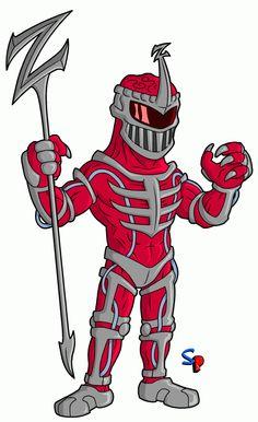Power Rangers Red Ranger DC+Marvel+Mas+Simpson 6.0 ...