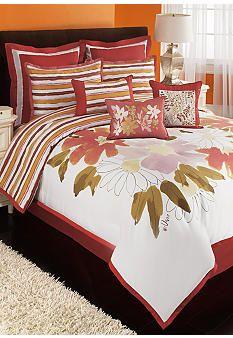Vera® Watercolor Floral Bedding Collection - Belk.com