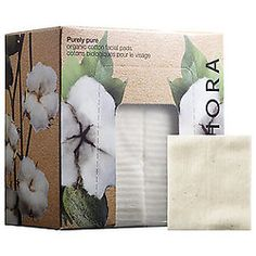 What it is:  A set of 60 organic cotton pads in a convenient storage box.   What it does:  These 100 percent organic facial cotton pads are extremely soft and exquisitely smooth, which allows for superior absorption and gentle application of liquid skincare products. Organic cotton products are softer and easier on your skin, making these pads ideal for those with sensitive skin. $8