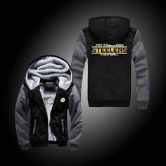 Pittsburgh Steelers Fan? Get This Jacket to Show Your Support! ★50% OFF★ ☞ FREE SHIPPING☜Please refer to the size chart below. (in inches) WHY TREAZURE ZONE? Ha
