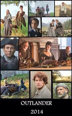 Characters in Starz production of Outlander