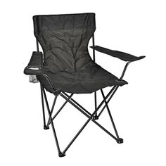 Camping-Stuhl aus Edelstahl