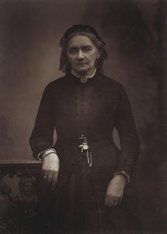 — Clara Schumann by Herbert Rose Barraud, c.1896.