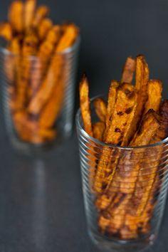 Tahini honey sweet potato fries