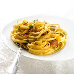 Easy Eggless Carbonara HealthyAperture.com