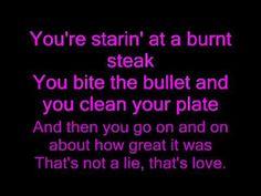 Thats love-Brad Paisley Lyrics