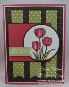 Stampin' Up! Blessed Easter - Glendas Blog
