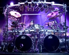 monster drum sets | Re: For you whats the most iconic drum kit / set-up?