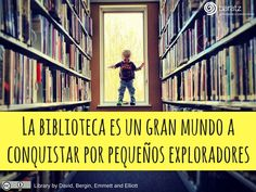 La biblioteca es un