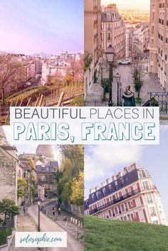 Most beautiful places in Paris: French Attractions and must see places and unique things to do to add to your European bucket list. Most hidden and secret spots in Paris, France!